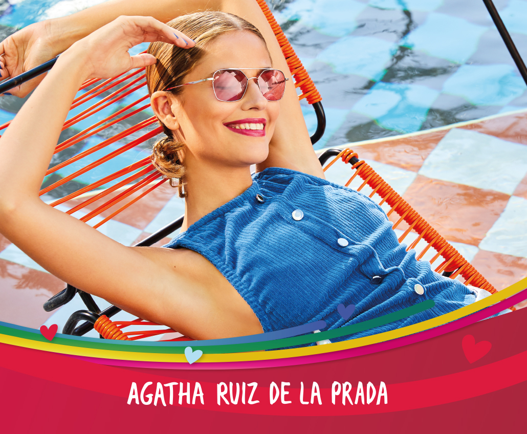 Agatha Ruiz de la Prada is bigger than ever.